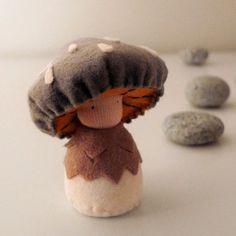 Mushroom boy - adorable!