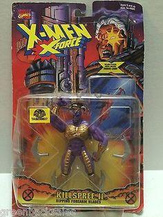 (TAS008637) - Toy Biz Marvel Comics X-Men X-Force Action Figure - Killspree II