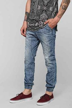ZANEROBE Slingshot Denim Jogger Pant - Urban Outfitters