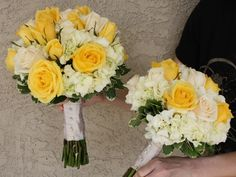Bernardo Flowers Inc Wedding Bouquet Ideas Yellow