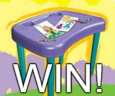 A **Competition closes Jan Art Desk, Giveaway, Competition, Creativity, Activities, Craft, Kids, Young Children, Boys