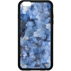Crystal Blue iPhone 6 Plus/6s Plus Case ($37) ❤ liked on Polyvore featuring accessories and tech accessories
