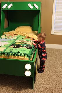 The Arthurs: Brody's Big Boy Tractor Bed