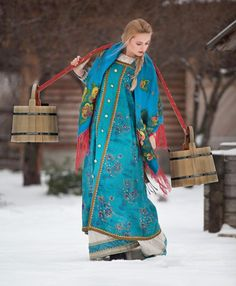 Although rare today, the yoke can still be seen in some rural houses.Only women carried water yokes. A man wearing a yoke would be regarded as having lost all his masculine dignity.