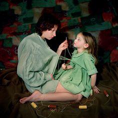 Victoria Sorochinski's Eerie Mother-Daughter Portraits