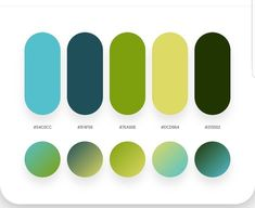 63 Ideas patio furniture ideas teal for 2019 Flat Color Palette, Green Colour Palette, Bright Color Palettes, Green Color Schemes, Color Combinations, Web Design, Color Swatches, Color Theory, Pantone Color
