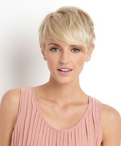 Great longer pixie -- but would it look as good without the light blonde?  Or would my dark blonde / mouse brown make it look frumpy?