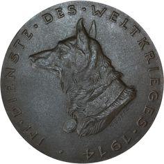 Karl Goetz Medal WW1 Red Cross Dogs
