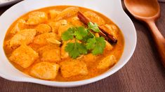 We love this authentic-tasting Indian butter chicken recipe with cauliflower rice.