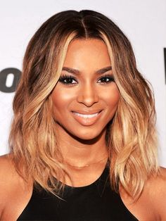 Medium hairstyles for black women with round faces | Hairstyle Ideas