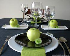 decoracion mesa con manzanas 5 by DecoracionMesas, via Flickr
