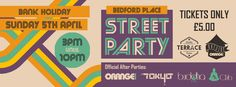 SOTONIGHT | Bedford Place Street Party - Easter Sunday - 5th April 2015 - Southampton - http://www.sotonight.net/event-tickets/bedford-place-street-party-easter-sunday-5th-april-2015-southampton/  BEDFORD PLACE – STREET PARTY. Please keep in mind this event is weather dependent. £5 tickets. Tickets also entitle you entry into all the venues after 10pm. BUY TICKETS DJ Line up on the day: Foor (Gavin Foord & Aki), George Francis, Jakuze, Dub Concept, Ricardo Grimos