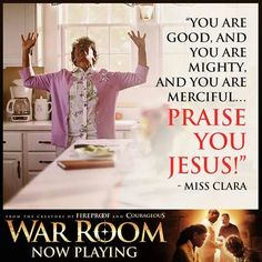 HE IS GOOD, AND HE IS MIGHTY AND HE IS MERCIFUL! ! PRAISE GOD AMEN #WarRoom