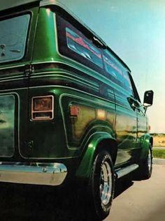 Custom old school boogie van
