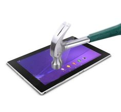 """Tempered Glass Film Screen Protector for Sony Xperia Z2 10.1"""" Tablet + Alcohol Cloth Free Shippping"""