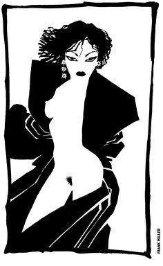 Frank Miller Artwork - Sin City