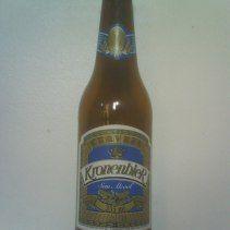 Kronenbier,  Ingredientes: Agua, malta, lúpulo, cereales no malteados Graduación Alcohólica: 0.5 %