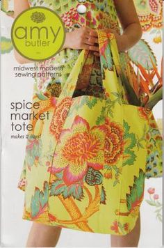Spice Market Tote Pattern