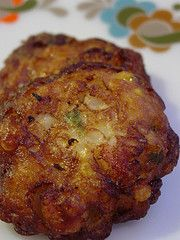 Corn fritters! I need to use up some cans of cream corn.
