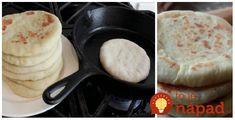 Extra rýchle placky namiesto klasického chlebíčka. Perfektné na grilovačku. Easy Cooking, Pancakes, Food And Drink, Low Carb, Breakfast, Basket, Morning Coffee, Pancake, Easy Recipes