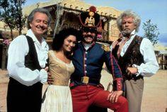 Henry, Patrice Martinez, James Victor & John G. Hertzler in New World Zorro. (Courtesy of Daryl McCullough)