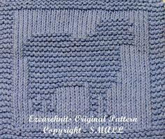 Knitting Cloth Pattern  SHEEP  PDF by ezcareknits on Etsy