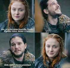 """Game of Thrones S6 Ep 10. """"Winter is here."""""""