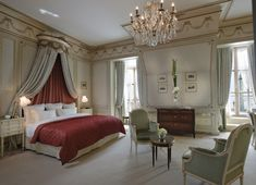 ritz paris bedroom | Passion For Luxury : Prestigious Suites at the Ritz Paris