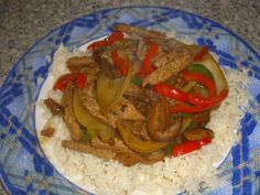 Chinese Beef with Peppers