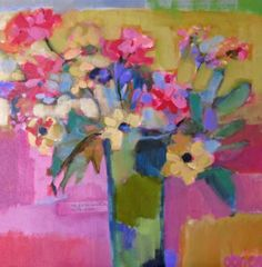 Annie O'Brien Gonzales flowers in a vase