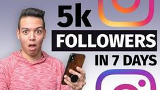 HOW TO GROW 5,000 INSTAGRAM FOLLOWERS in 7 DAYS! (step by step) Free Followers On Instagram, Free Instagram, How To Make Quotes, Make Money Online, How To Make Money, Creating Passive Income, Get More Followers, Online Marketing, Make It Simple