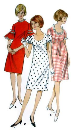 Vintage 1960's Women's Sewing Pattern Butterick by Sutlerssundries, $9.99