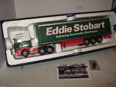 Corgi CC13749 Scania R Curtainside Trailer for Eddie Stobart , Ireland in 1:50