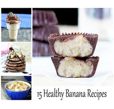 15 healthy recipes that will make you LOVE bananas.