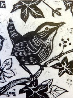Wood engraving by Penny Pritchard