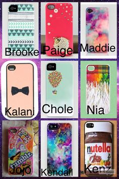 Comment your fave! I like Brooke's phone case because I am more of a blue kind of girl, I would also pick Kendall's because I am also a Galaxy kind of girl too