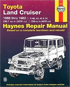 Toyota land cruiser fj40 4345 55 60 6882 haynes repair toyota land cruiser fj40 43 45 55 60 68 fandeluxe Choice Image