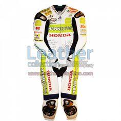 James Toseland Honda WSBK 2007 Leathers for $629.30 - https://www.leathercollection.com/en-we/james-toseland-honda-leathers.html