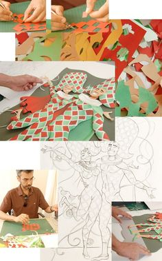 Amazing paper sculptures created by talented Brazilian artist Carlos Meira