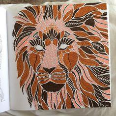 Loving The New Millie Marotta Colouring Book Wild Savannah
