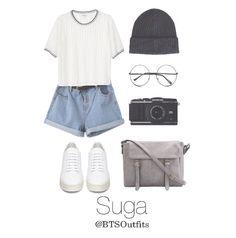 BTS Suga/Yoongi Spring outfit