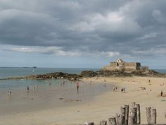 Old Fort near St. Malo, France