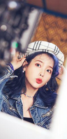 IU Blueming MV Behind Wallpapers & LockScreen People prefer different filters. Iu Short Hair, Iu Hair, Short Hair Styles, Korean Actresses, Korean Actors, Iu Twitter, Girl Artist, Iu Fashion, Kdrama Actors