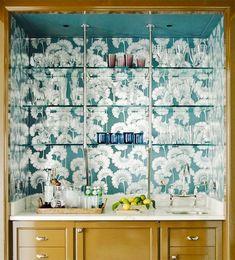 Chinoiserie Wallpaper Idea