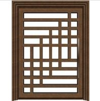 Contemporary wrought iron door - www.irondoor.cn