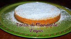 #Torta di #Mandorle #Vegan ! Provare per credere link alla videoricetta: http://youtu.be/B9R858YdsEY