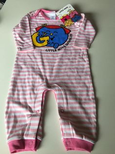 5a4523caee4 LITTLE MISS GIGGLES BABY GIRL ROMPER BODYSUIT SIZE 00 FITS 3-6M  NEW  GIFT  IDEA