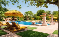 16. Oberoi Vanyavilas, Ranthambhore, India | This year's list of the best 100 hotels — which include exclusive safari lodges, urban sanctuaries, and family-friendly beach resorts — will inspire some serious wanderlust.