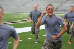 Go Army! Class of 2016 completes the McGinnis Challenge!