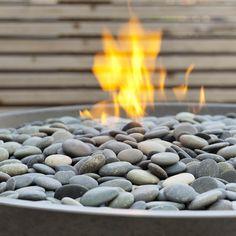 Paloform Miso Modern Round Outdoor Fire Pit | Stardust